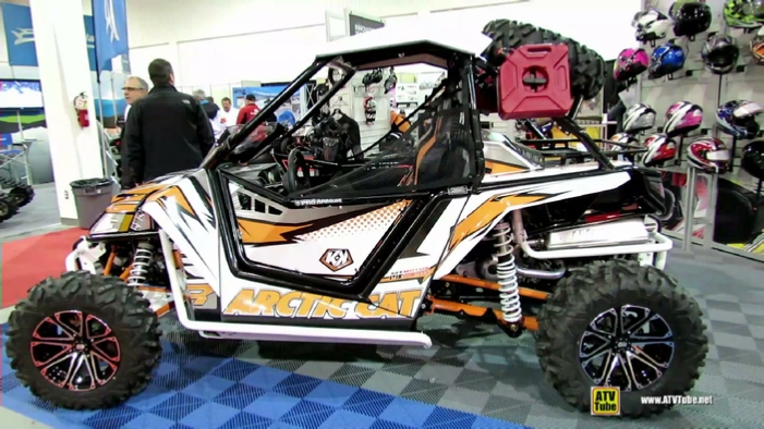 2013 Arctic Cat Wildcat 1000 Motos Illimites At 2014