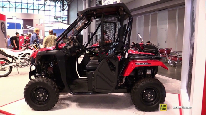 2015 Honda Pioneer 500 Side By Side Atv At 2014 New York