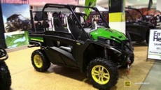 2015 John Deere Gator RSX 850i Utility Vehicle at 2014 Toronto ATV Show