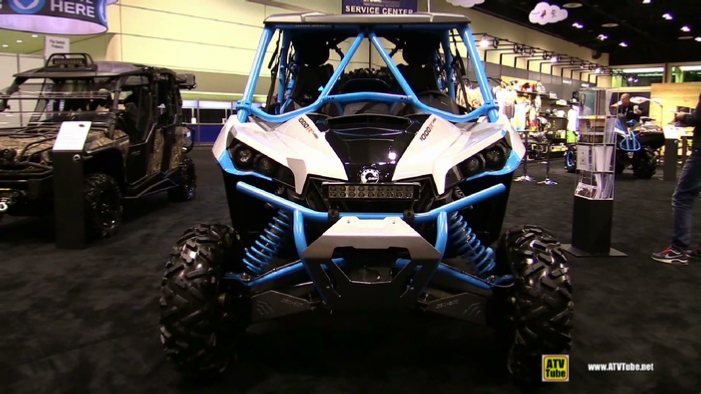 2016 Can Am Maverick Max X Ds 1000r Turbo Side By Side Atv