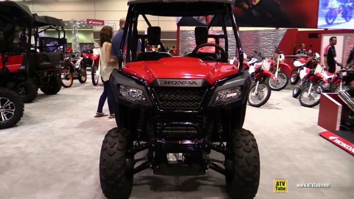 2015 Honda Pioneer 500 >> 2016 Honda Pioneer 500 Utility Atv At 2015 Aimexpo Orlando