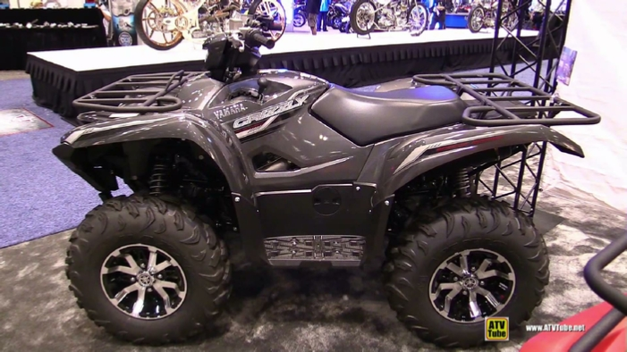 2016 yamaha grizzly 700 special edition recreational atv